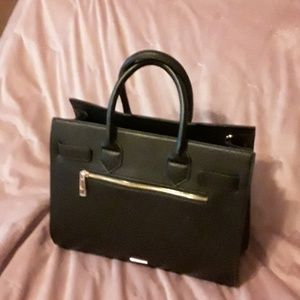 Aldo black leather purse